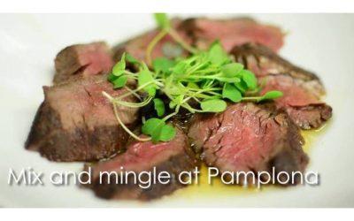 Mix and mingle at Pamplona