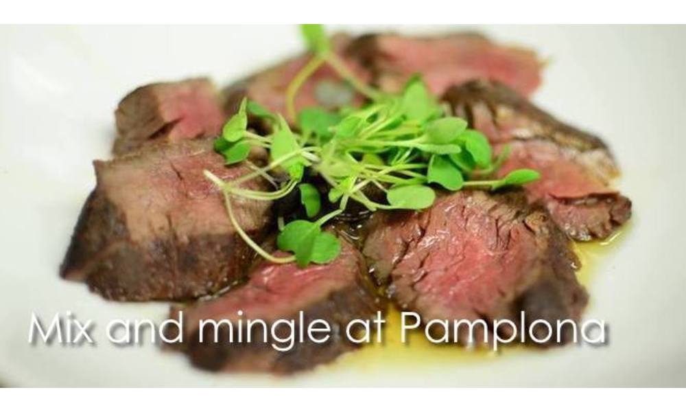 Mix and mingle at Pamplona