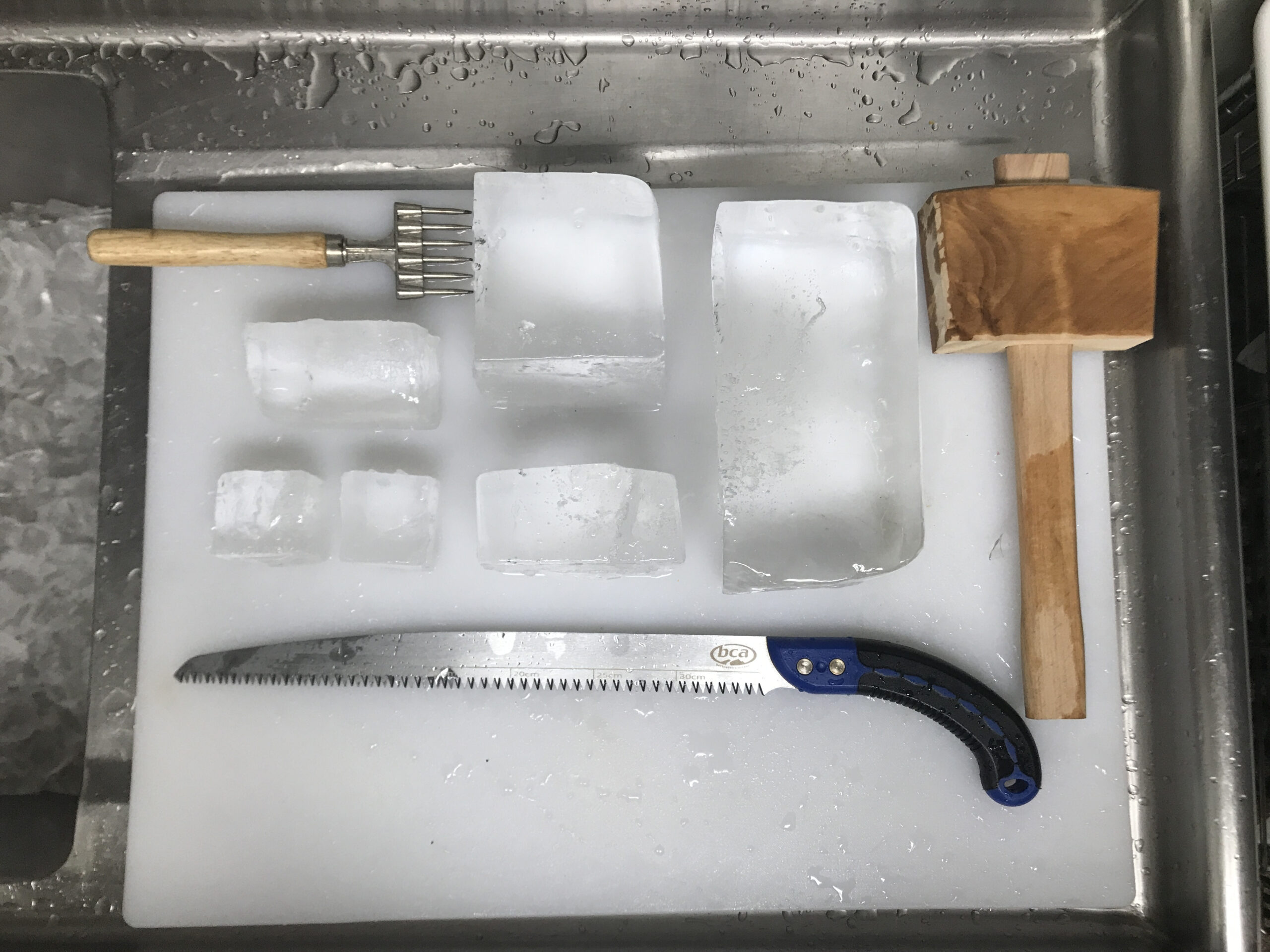 Hand Carved Ice