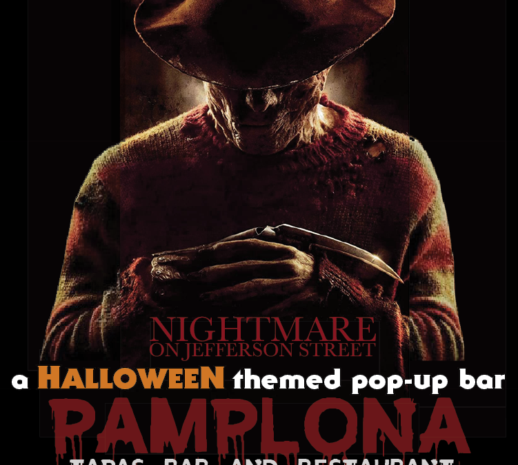 "Pamplona Tapas Bar Announces ""NIGHTMARE"", a Halloween-Themed Pop-Up"