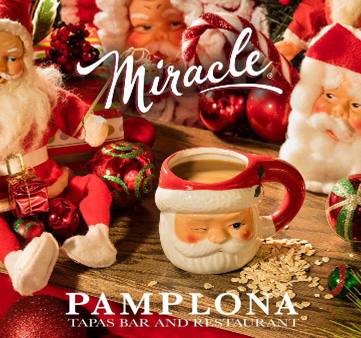 A 2020 Miracle: Christmas-themed, pop-up cocktail bar returns to Pamplona